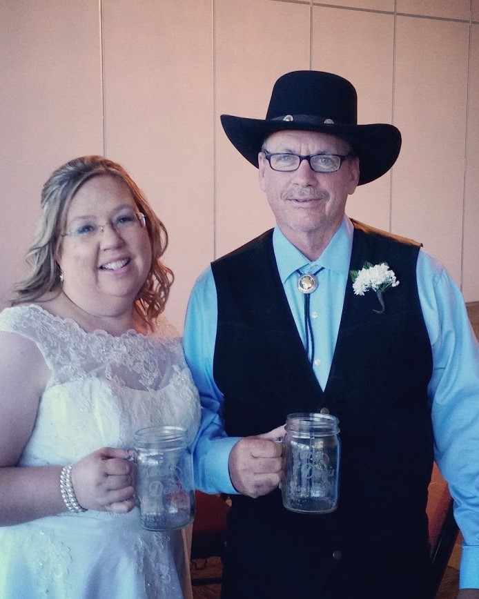 Our wedding bartenders make for happy couples!